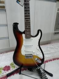 Guitarra Tagima MG32 Memphis - Tudo Incluso