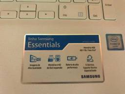 Notebook Samsung novo