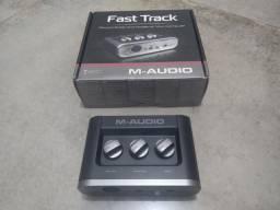 Interface De Audio M-audio Fast Track