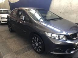 Civic lxr top automatico o sedan sportivo mais desejado e com preço atraente - 2016