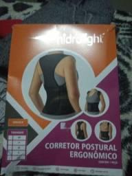 Protetor de coluna, costas e ombro