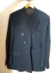 Terno, calça e gravata azul marinho 10 x 30,00 TAMGG