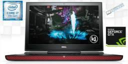 Notebook Dell Inspiron Gaming - i7 7700HQ 16gb GTX 1050 Ti SSD 500GB