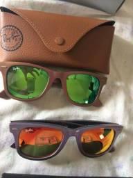 Oculos Ray ban Wayfarer Cosmo original, nunca usado, completo