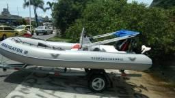 Flex Boat - Motor 40 HP's - 2004 - 16 pés