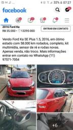 Ford K.A 1.5 2016 completo