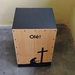 Cajon Acustico Percussion Olé