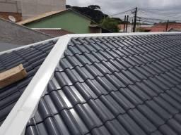 Telhados e manta térmica