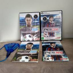 Jogos para PC PES 2008 + PES 2010