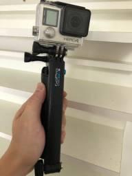 GoPro Hero4 tela touch + bastão