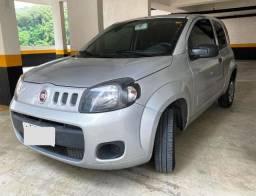 Fiat UNO Vivace 1.0 Evo Fire 2P Prata 2016 c/ ar e direção