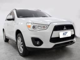 Mitsubishi ASX 2.0 Branco Gasolina 2013 Automático Completo