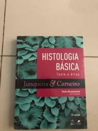 Livro medicina histologia Junqueira e Carneiro ano 2020
