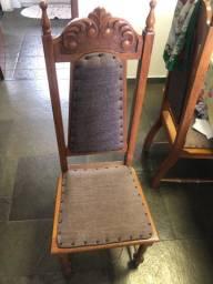 Cadeiras colonial p mesa de jantar