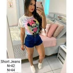 Shorts Jeans Lindos confira os tamanhos nas fotos.