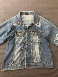 Vendo jaqueta jeans - Marca: Karen Vinicius - tam: P