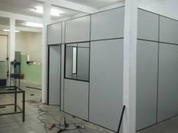 Divisória Eucatex Mão de obra + Material 85 reias M2 ja instalada