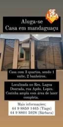 Casa para alugar em Mandaguaçu