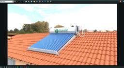 SAS - Sistema de Aquecedor Solar a Vacuo ACP15T
