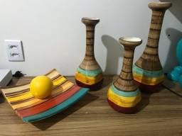 Conjunto de cerâmicas