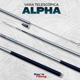 Vara Telescópica Alpha / Way Fishing (98% Carbono)