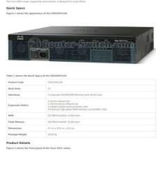 Roteador departamental Cisco 2921 Novo na caixa