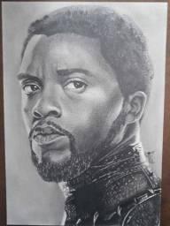 Desenho Pantera Negra