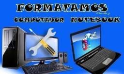 Formatação e Manutenção PC e Notebook
