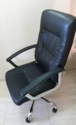 Cadeira Presidente Alta Office Plus