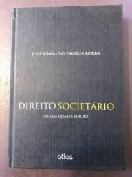 Livro Direito Societário José Edwaldo Tavares Borba
