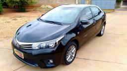 Corolla XEI 2.0, 2016, automático, completo, 50 mil km originais, revisão na Toyota