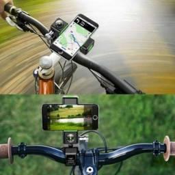 Suporte de Celular para moto/bicicleta com bússola são luis