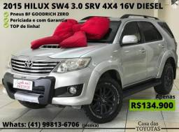 2015 Toyota Hilux SW4 3.0 SRV 4X4 16V Turbo Intercooler Diesel 4P AUT