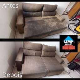 Lavagem de sofá promoção junho!