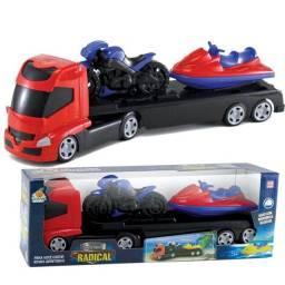 Título do anúncio: Brinquedo Caminhao + Moto + Jet Ski Sport Radical Infantil