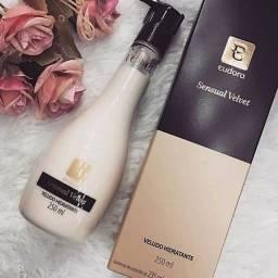 Eudora Sensual Velvet loção hidratante perfumada 250ml