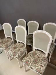 Cadeiras Luis XV, sala de jantar