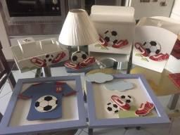Título do anúncio: Kit decoração infantil Futebol