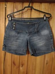 667 - Short jeans feminina - Tam 38