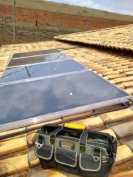 Título do anúncio: Placa aquecedor solar coletor solar boiler