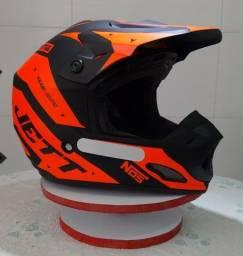 Capacete Motocross Trilha - TH1 Jett Evolution 2(Produto Novo)