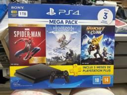 PlayStation  4 - 1TB Lacrado e com NF