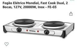 Título do anúncio: Vende-se fogão elétrico com apenas 1 mês de uso