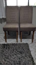 Vendo conjunto de cadeiras Lia