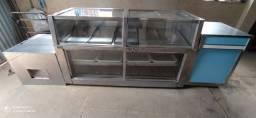 Título do anúncio: Vende se balcão expositor refrigerado e congelado com chave de regulagem
