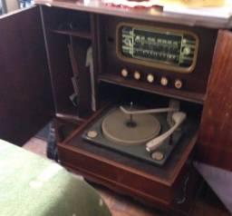 Raridade Radio Vitrola BSR 1958