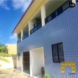 Apartamento Duplex com 3 dormitórios à venda, 135 m² por R$ 200.000 - Enseada de Jacumã -