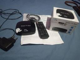Título do anúncio: TV box com caixa e  nota fiscal
