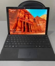Microsoft Surface Pro 6 com teclado, surface pen, hub e capa