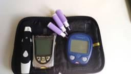 Aparelho para medir glicose.